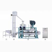 Оборудование для шелушения и сепарации гречихи