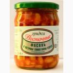 Фасоль в остром томатном соусе, РБ