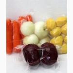 Овощи чищенные в вакууме