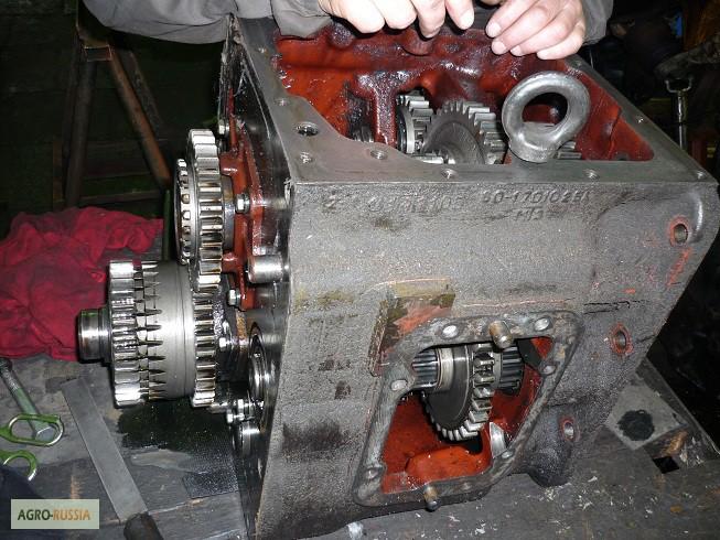 Коробка передач трактора Т-40 (КПП) и ее схема