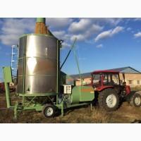 Услуга сушки кукурузы и подсолнечника