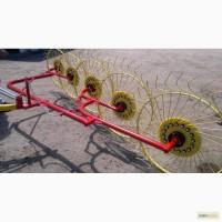 Грабли-ворошилки 5 колесные Польша (Ekiw), 3 метра