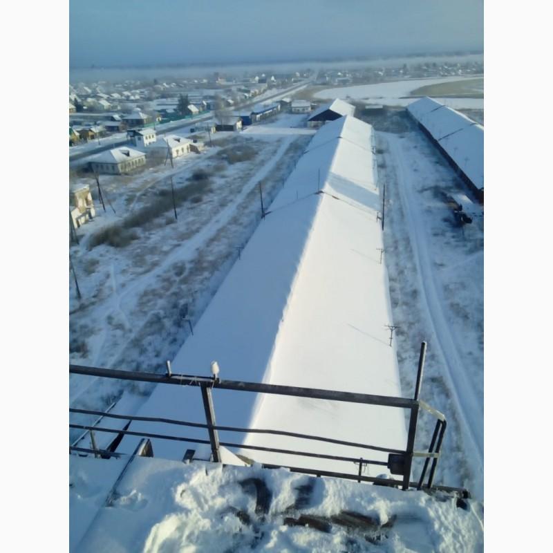 Фото 6. Зерносушилки зерносклады гаражи вспомогателные здания