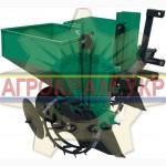 Продам двурядну картоплесаджалку КСН-2Т-90 на мінітрактор трактор