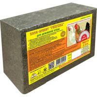 Рябушка кормовой брикет для домашней птицы, 2, 5 кг