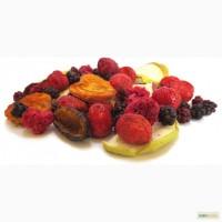 Сушеные ягоды и фрукты низкотемпературной вакуумной сушки