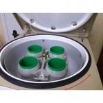 Лабораторная настольная центрифуга с ротором на большие объемы