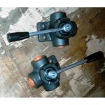 Кран гидравлический высокого давления 358.30.12 (1/2 дюйма) трехходовой