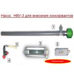 Насос НВУ-3 для внесения консервантов в корма ( с доставкой)
