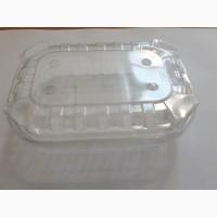 Контейнер пластиковый под ягоды 125 гр с крышкой