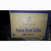 Кофе растворимый сублимированный Cacique (Касик, Бразилия)