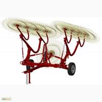 Грабли-ворошилки 8 и 9 колесные ГВВ-6М