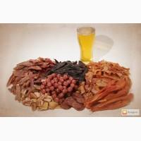 Сырокопченные колбаски к пиву