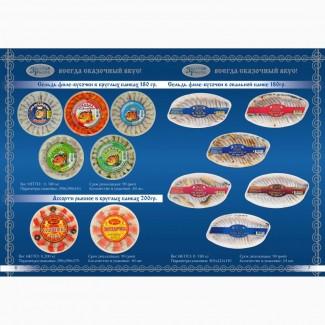 ООО Сантарин, реализует рыбные пресервы производства России