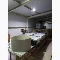Продам Мальковую линию по выращиванию клариевого сома с инкубационным участком