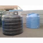 Емкости пластиковые пищевые, химостойкие от 1 м3 до 10 м3