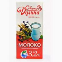 Молоко ультрапастерезованное 3.2 % Северная Долина