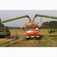 Перевозка продукции с полей и уборка урожая