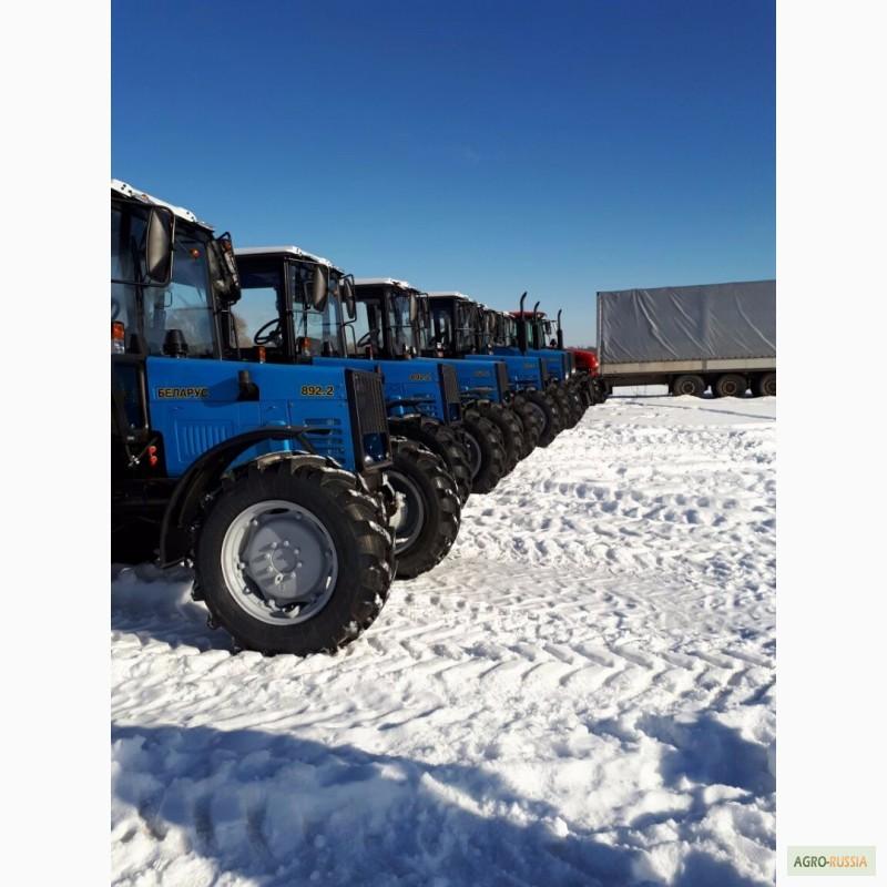 Новые трактора МТЗ «Беларус» 892.2 по низким ценам с.