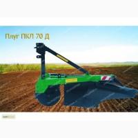 Плуг лесной комбинированный ПКЛ-70 Д (МТЗ-80, МТЗ-82, ДТ-75) - от производителя