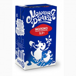 Молоко 3.2% жирности
