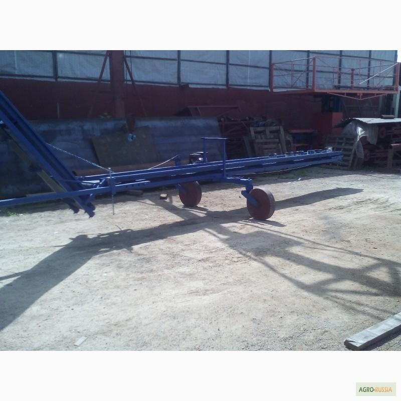 Прицепной транспортер конвейер для отвала