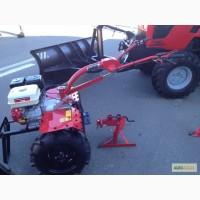 Мотоблок 06МКР (в комплекте с колёсами, фрезами, сцепкой, плугом и окучник
