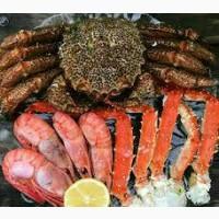 Закупаем оптом морепродукты, икру, рыбу