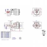 Героторный Гидромотор ОМR 100 151-0712, 151-7222 Sauer-Danfoss,Зауэр Данфосс