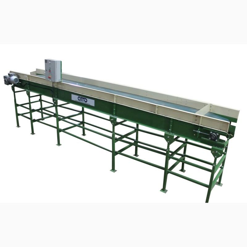 Ленточный горизонтальный конвейер редуктор транспортера