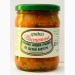 Солянка овощно-грибная из свежей капусты