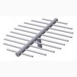 Щелевая труба (луч) для фильтров, колпачки щелевые ВТИ-К, К-500