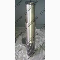 Вал шлицевой (вал планшайбы) к гранулятору ОГМ-1, 5. Запчасти для гранулятора ОГМ