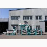 Оборудование для шелушения и сепарации семян подсолнечника - совершенствованное