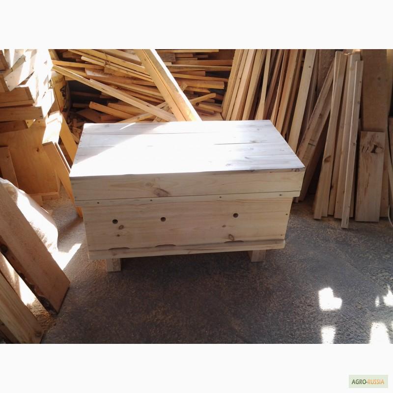 Фото 8. Ульи-лежаки для пчел на 14, 16, 20 и 24 рамки (300 мм.)