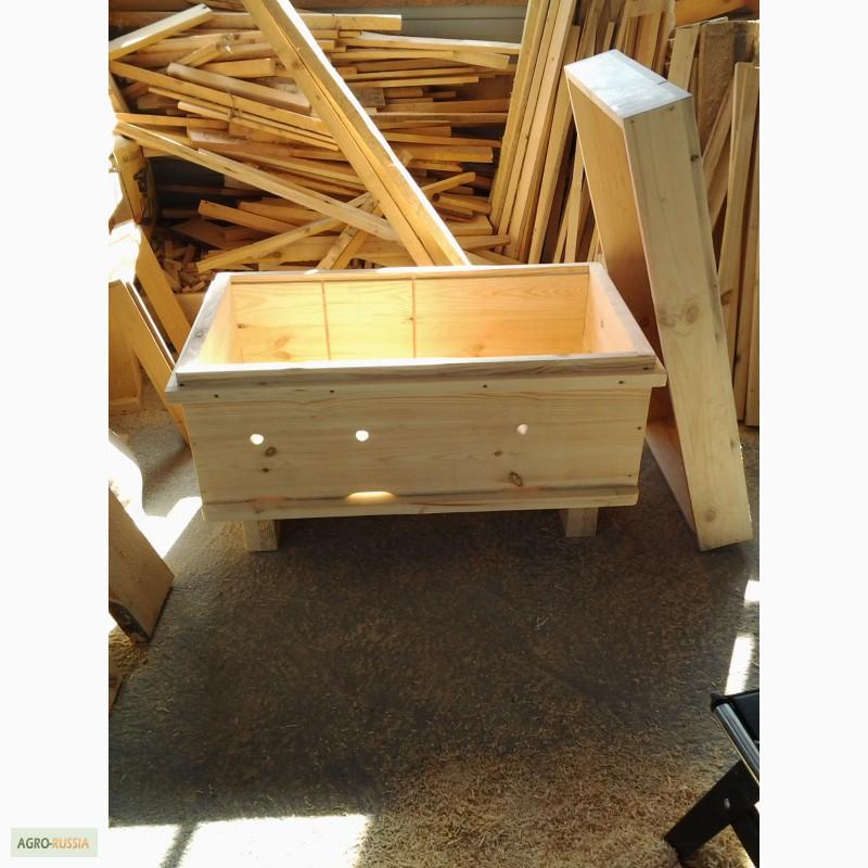 Фото 9. Ульи-лежаки для пчел на 14, 16, 20 и 24 рамки (300 мм.)
