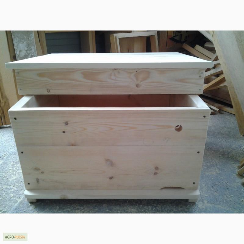 Фото 11. Ульи-лежаки для пчел на 14, 16, 20 и 24 рамки (300 мм.)