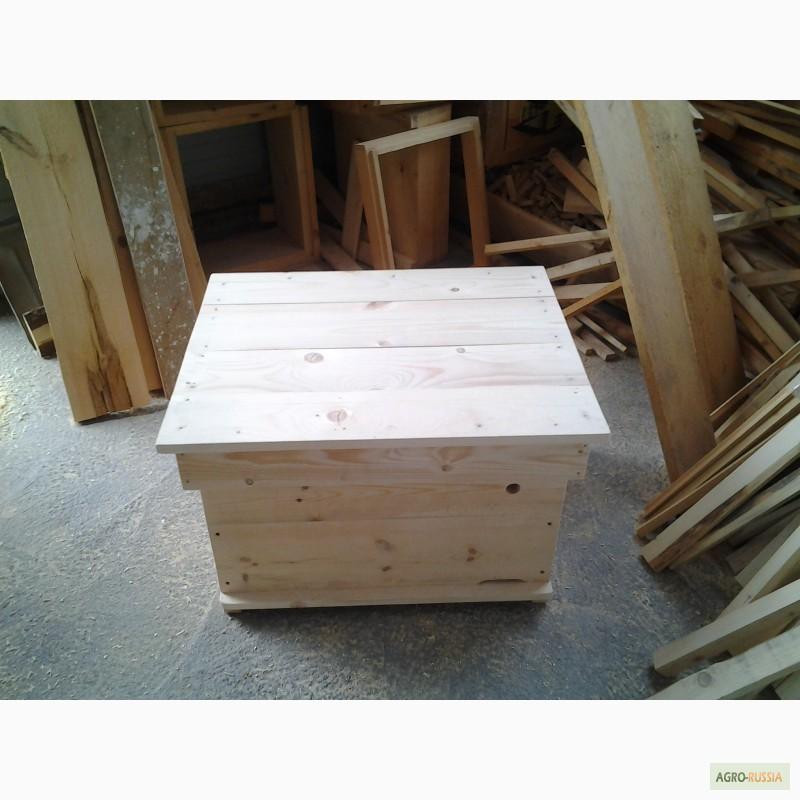 Фото 12. Ульи-лежаки для пчел на 14, 16, 20 и 24 рамки (300 мм.)