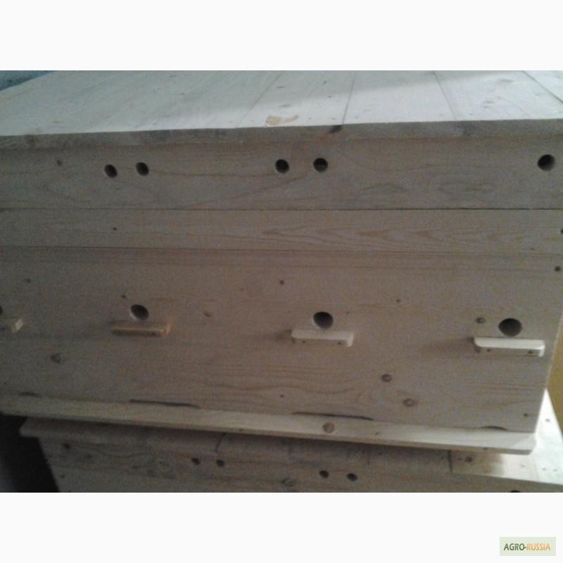 Фото 2. Ульи-лежаки для пчел на 14, 16, 20 и 24 рамки (300 мм.)