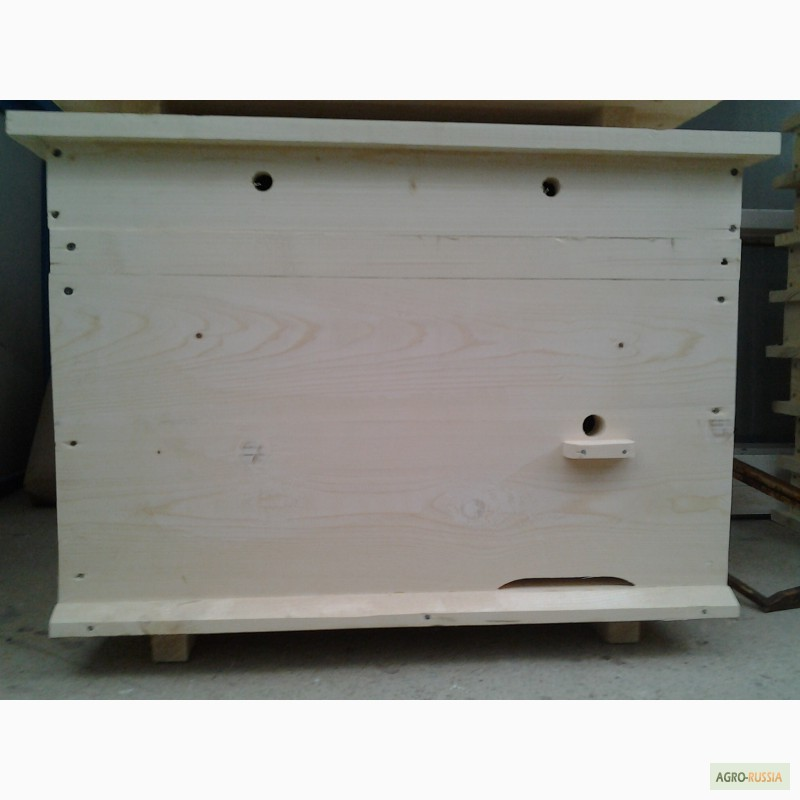 Фото 4. Ульи-лежаки для пчел на 14, 16, 20 и 24 рамки (300 мм.)