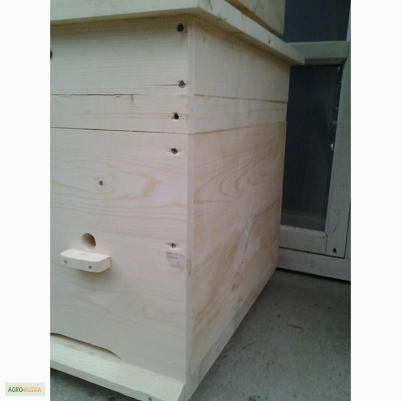 Фото 5. Ульи-лежаки для пчел на 14, 16, 20 и 24 рамки (300 мм.)