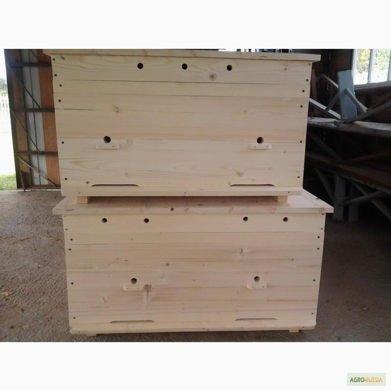 Фото 6. Ульи-лежаки для пчел на 14, 16, 20 и 24 рамки (300 мм.)
