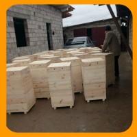 Улей для пчел на рамку Дадана-Блатта в двухкорпусной комплектации