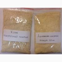 Корм кукурузный молотый (дробленка, мучка, стенки зерна)